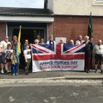 Unveiling of Tommy silhouette on armed forces day 3
